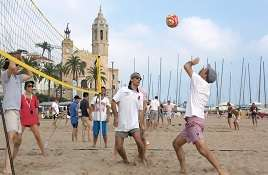 Beach Games in Barcelona