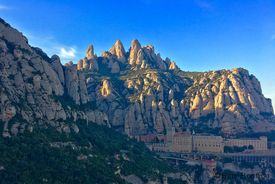 The Montserrat is a multitude of rock formations located in the Penedès region 45km drive from Barcelona. Montserrat is Spain's first National Park. Sites of interest: Sanctuary of the Mare de Déu de Montserrat. Benedictine monastery. La Moreneta. Montserrat Museum. Funicular (mountain car).